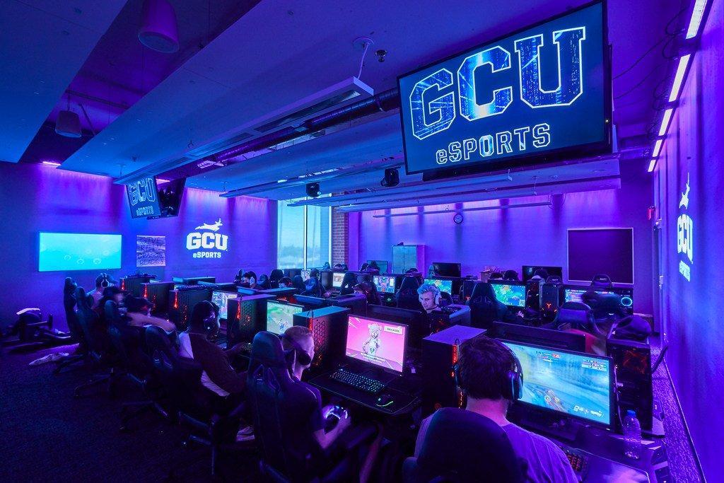 GCU Esports practice facility