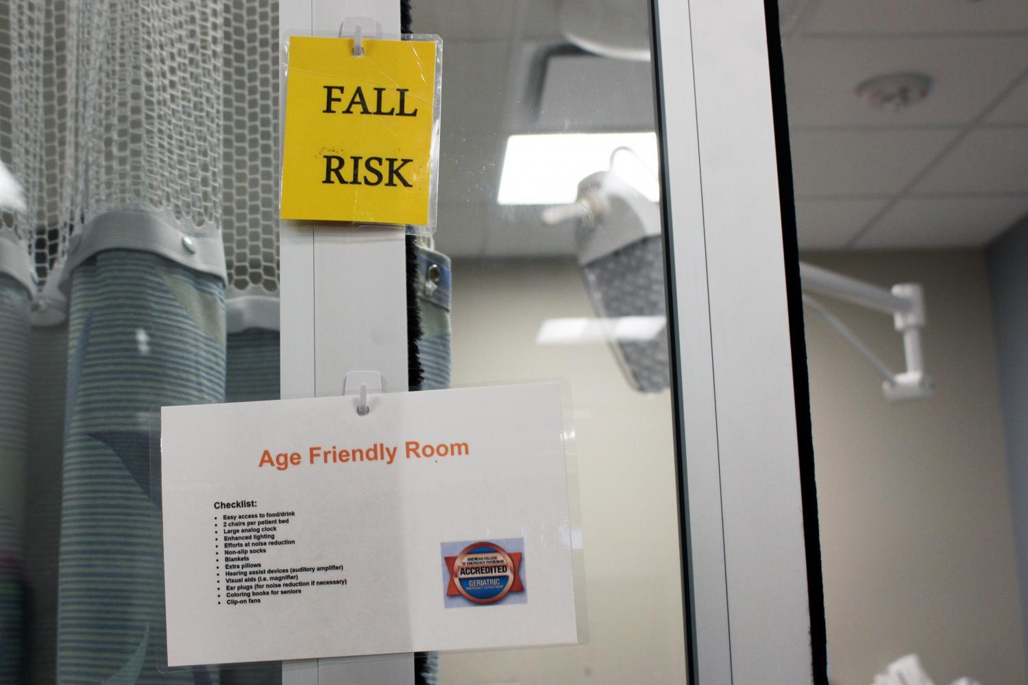 age-friendly rooms at Banner University Medical Center