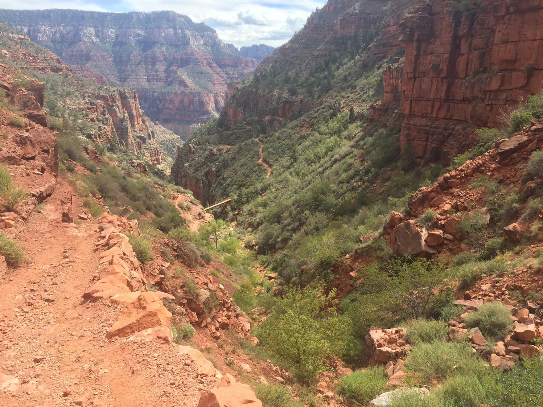 Grand canyon interior
