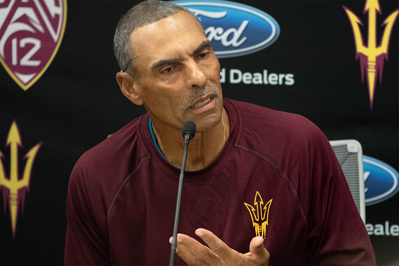 Herm Edwards ASU Football coach