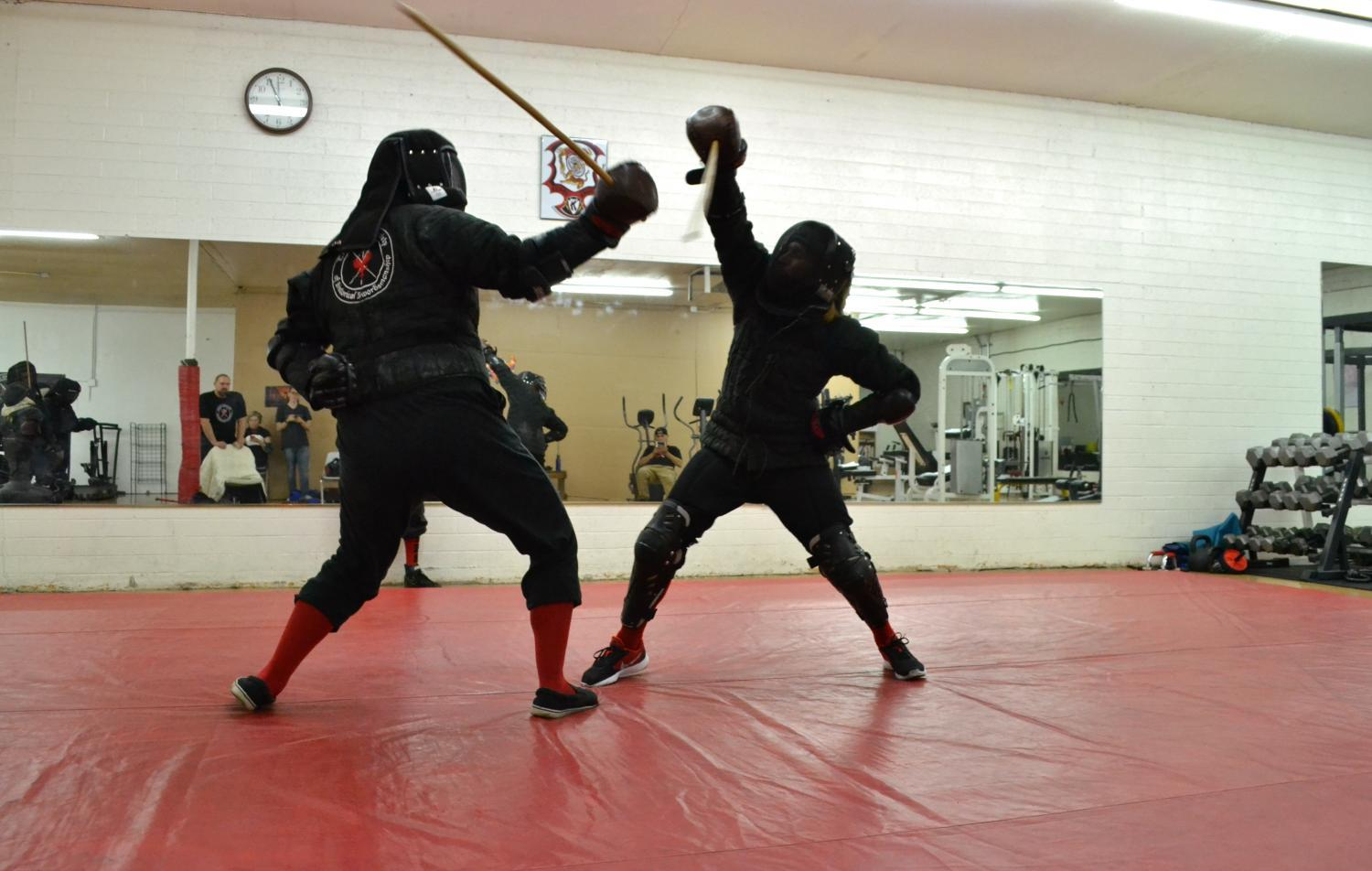 players fighting