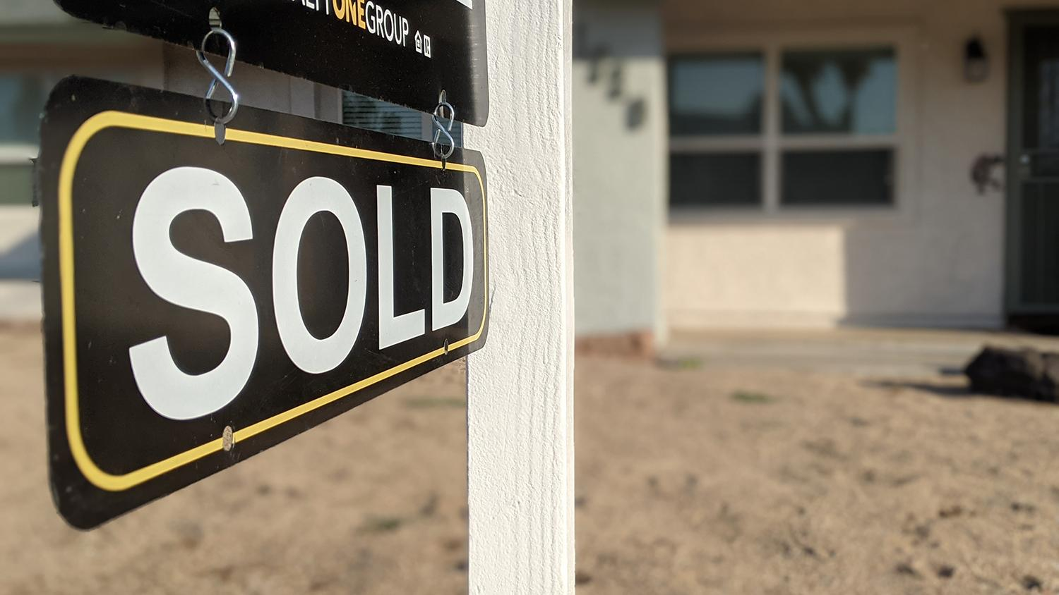 A home sold in Phoenix