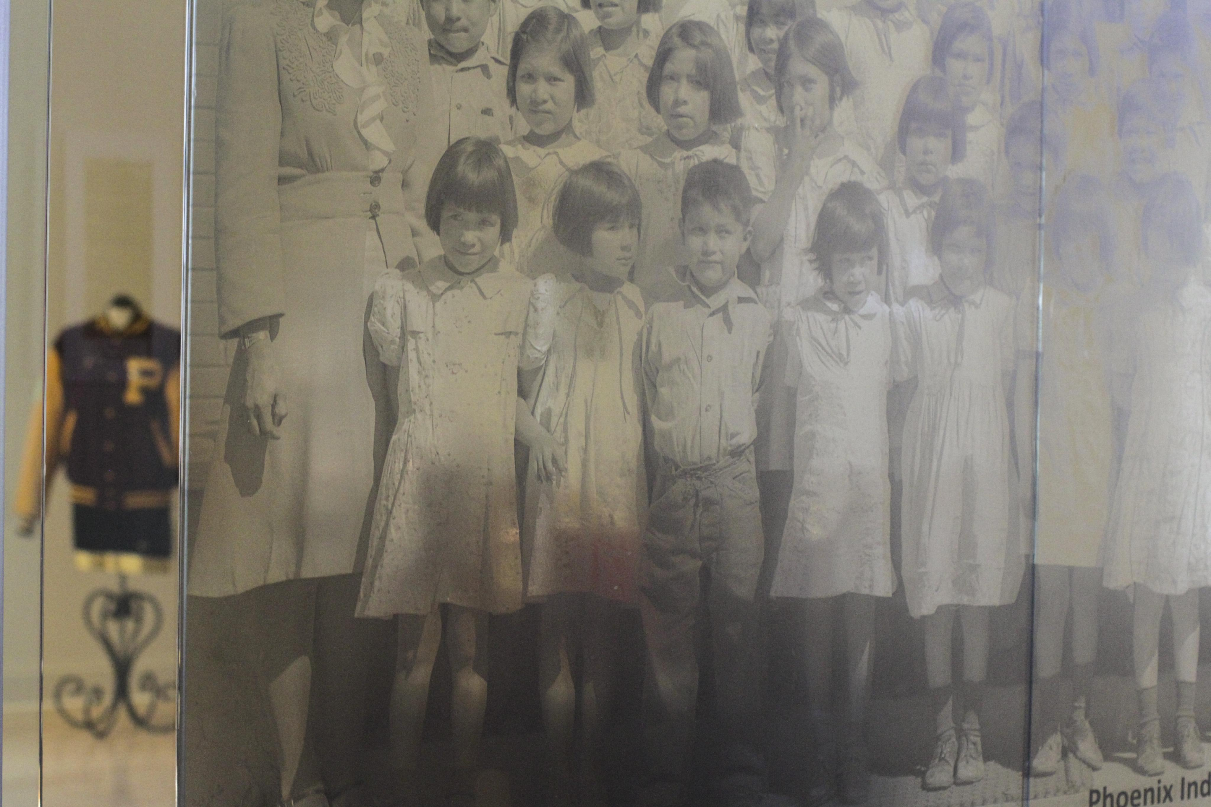 Children who attended Phoenix Indian School in the 1950s