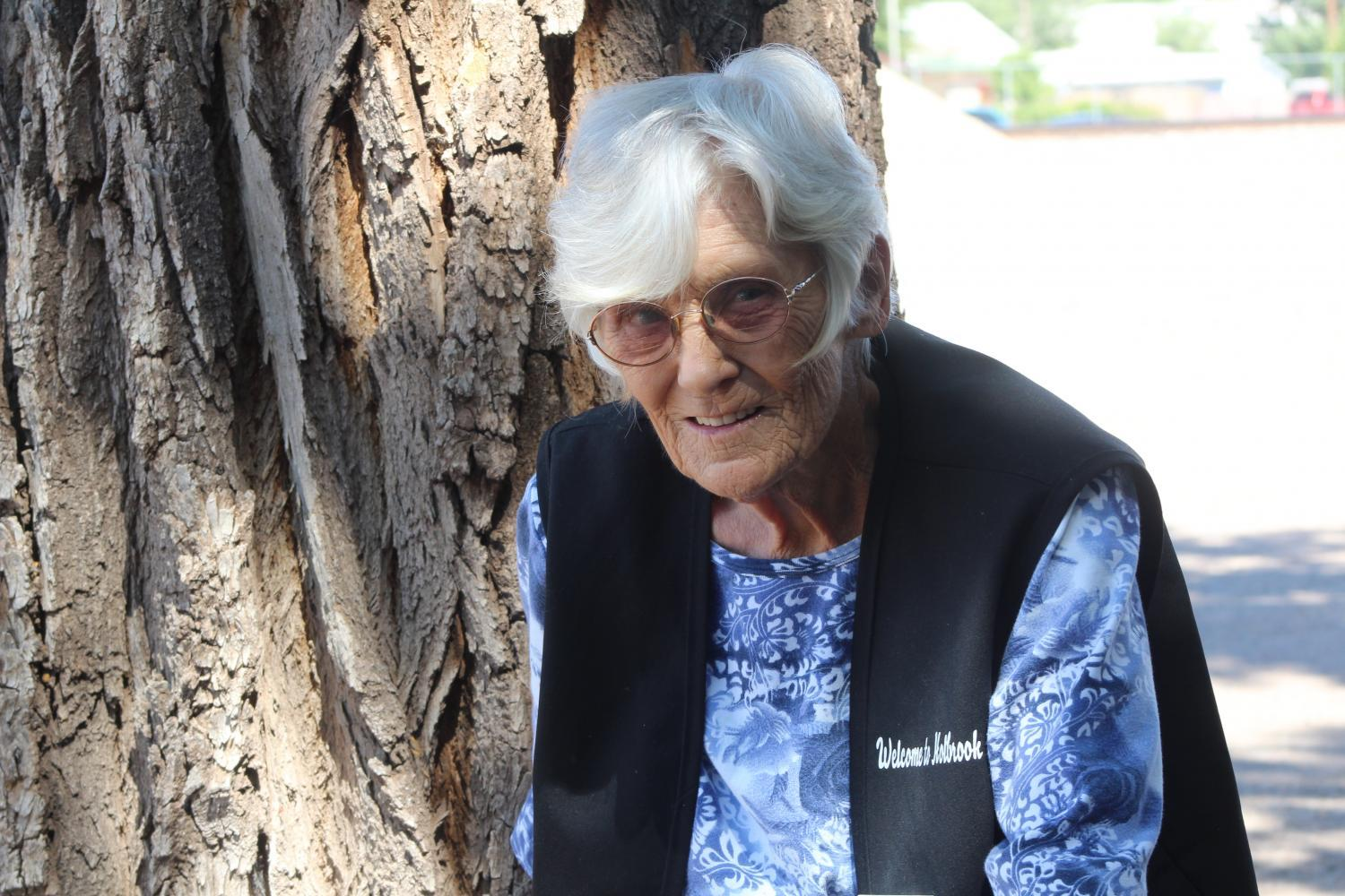 77-year-old JoLynn Fox is a volunteer with the Navajo County Historical Society and Museum.