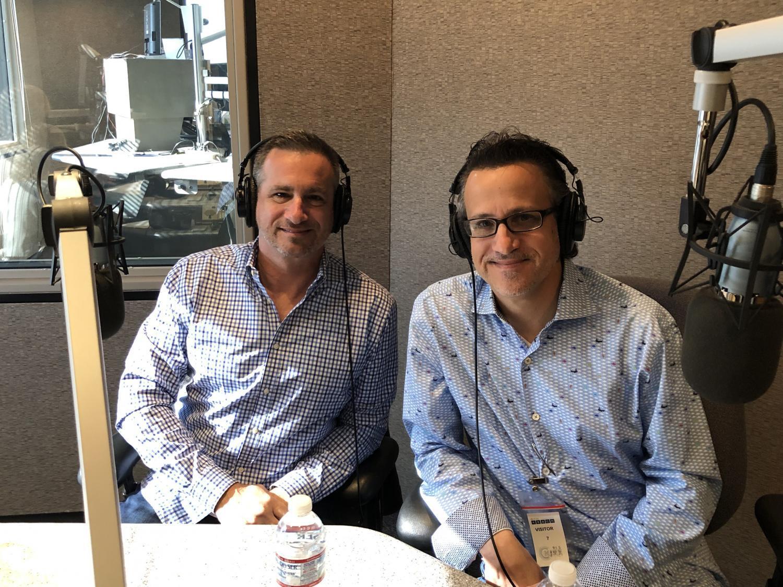 Neil Giuliano (left) and Marcus Dell'Artino