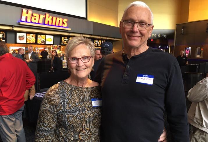 Gary Jackovin and Linda Bellon