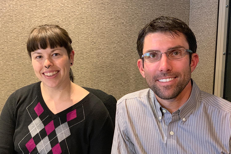Liza Kurtz and David Hondula