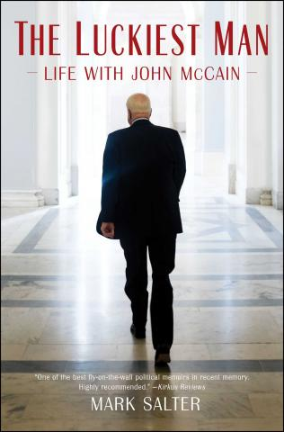The Luckiest Man Life With John McCain book cover