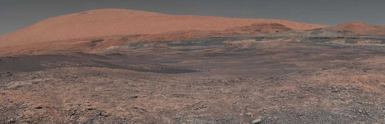 photo of mars landscape