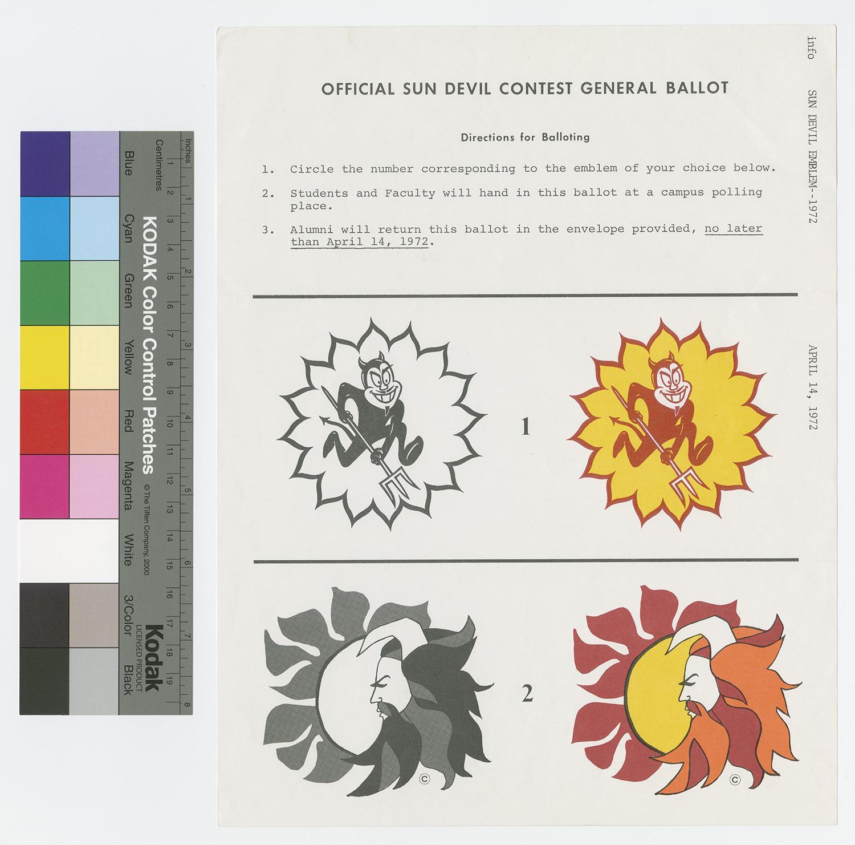 ASU Sun Devil viking alternate design