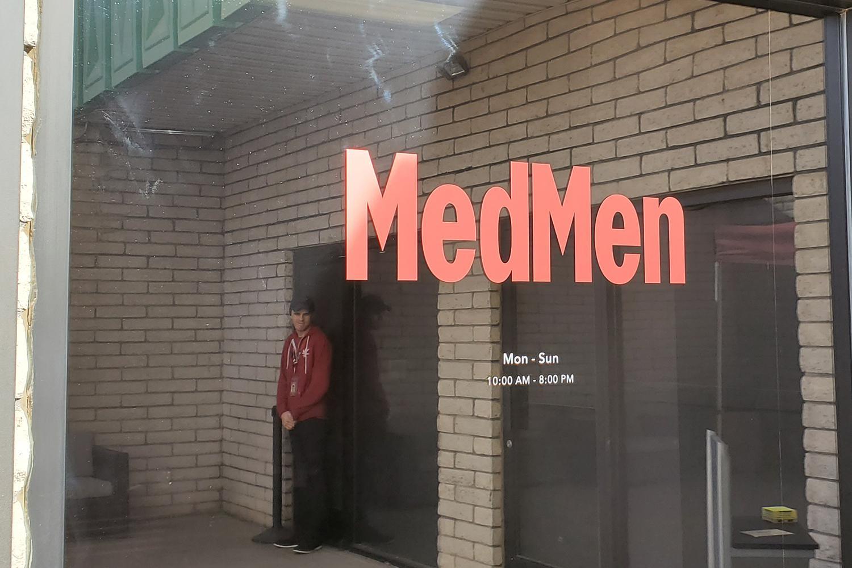 MedMen medical marijuana dispensary