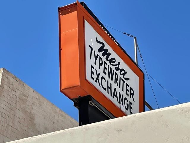 Mesa Typewriter Exchange