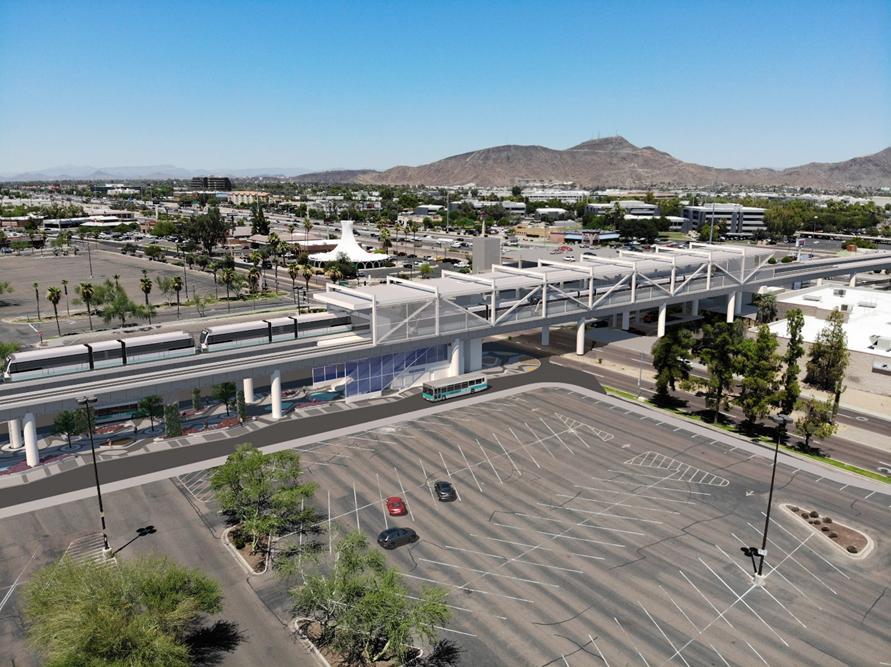 Phoenix Light Rail Metrocenter