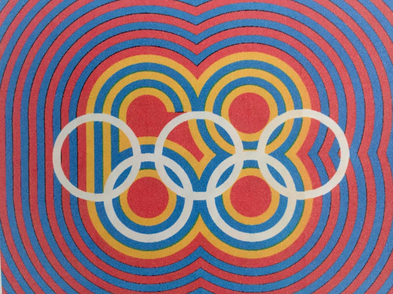Mexico 68 graphic design