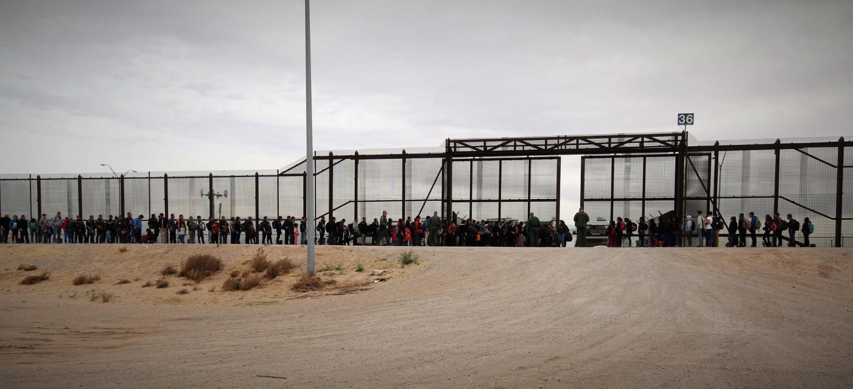 migrants at the border