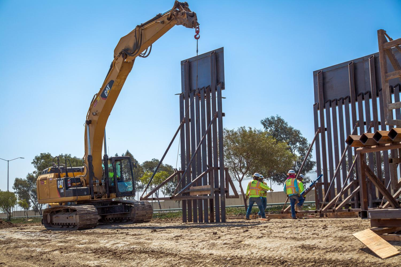 New trump border wall