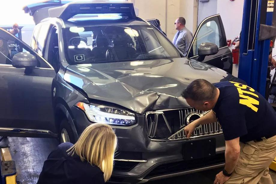 Self-driving Uber fatal accident