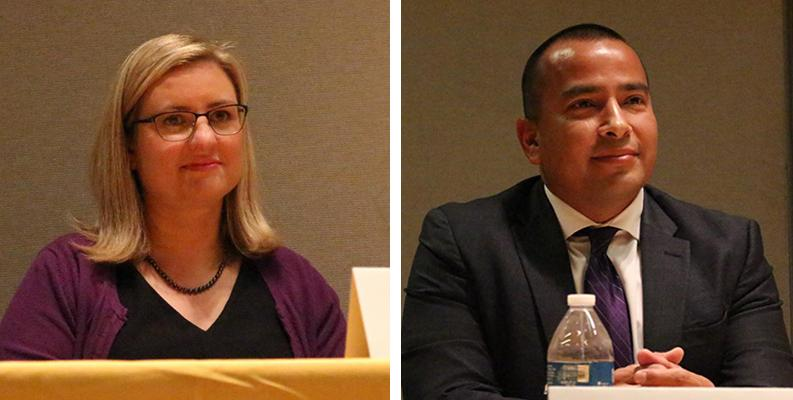 Kate Gallego and Daniel Valenzuela