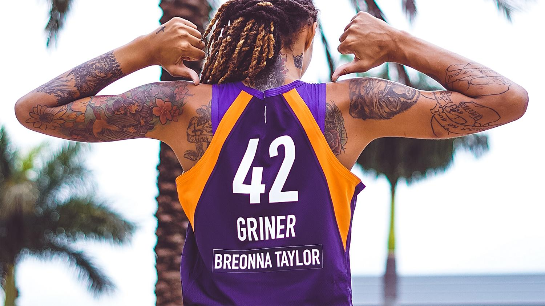 Phoenix Mercury Brittney Griner Breonna Taylor jersey
