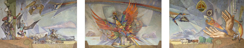 The Phoenix mural