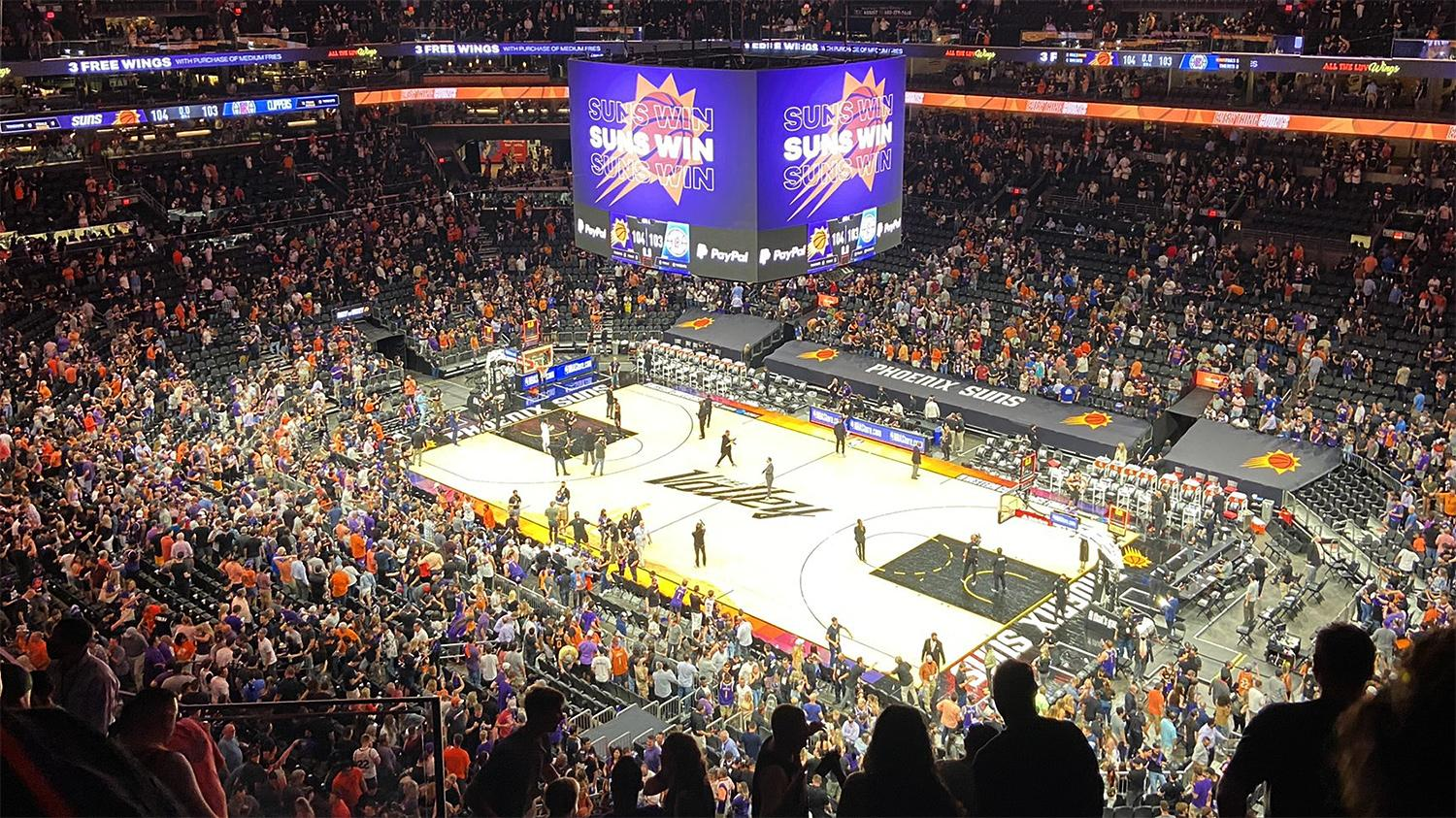 Phoenix Suns win Game 2 Western Conference finals