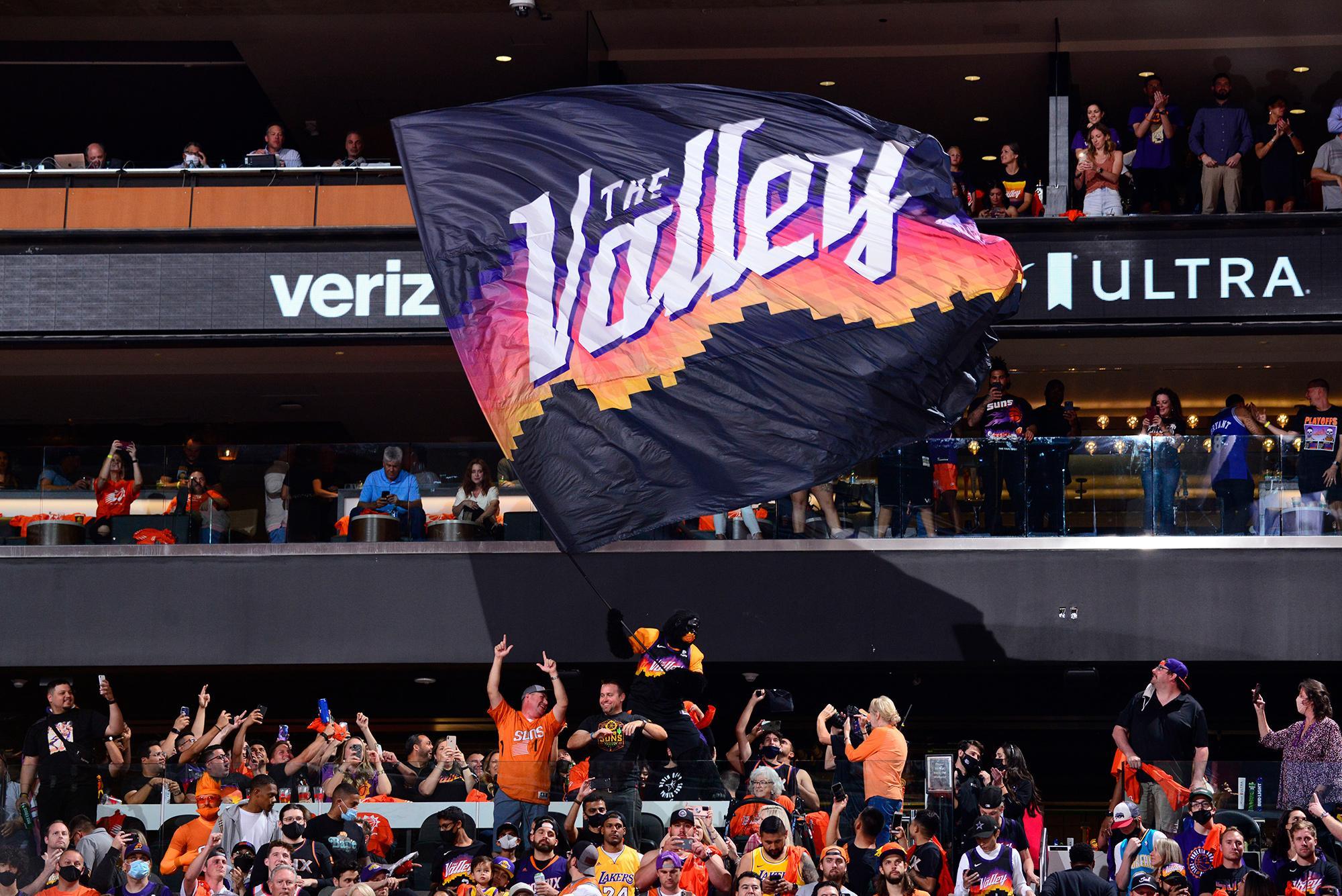Phoenix Suns Gorilla the Valley flag
