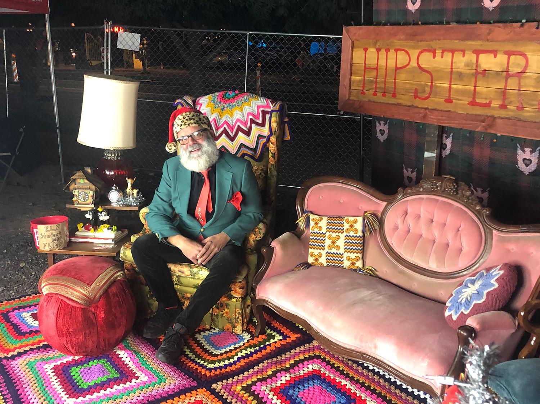 Phoestivus Hipster Santa