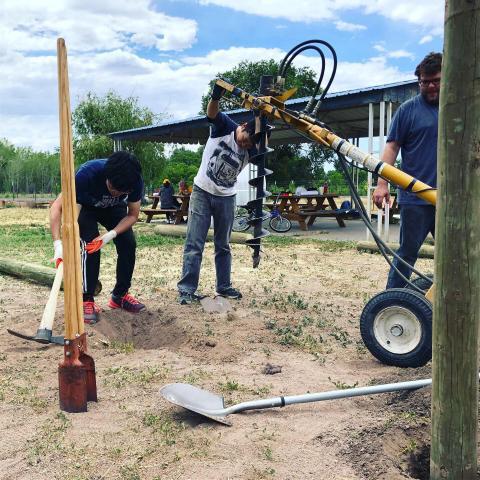 Boys and Girls club playground repair