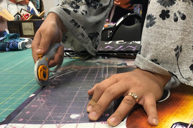 Refugee sewing