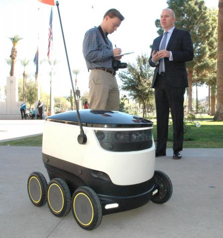 automated delivery robot