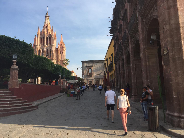 San Miguel de Allendes main square