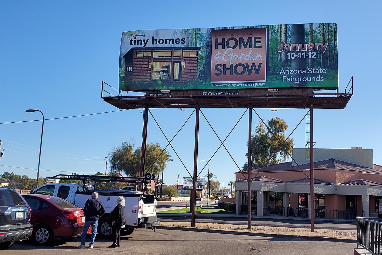 Scottsdale Miller McDowell billboard
