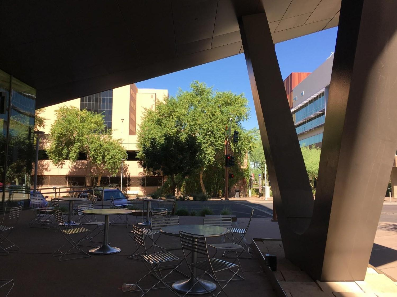 shade and trees