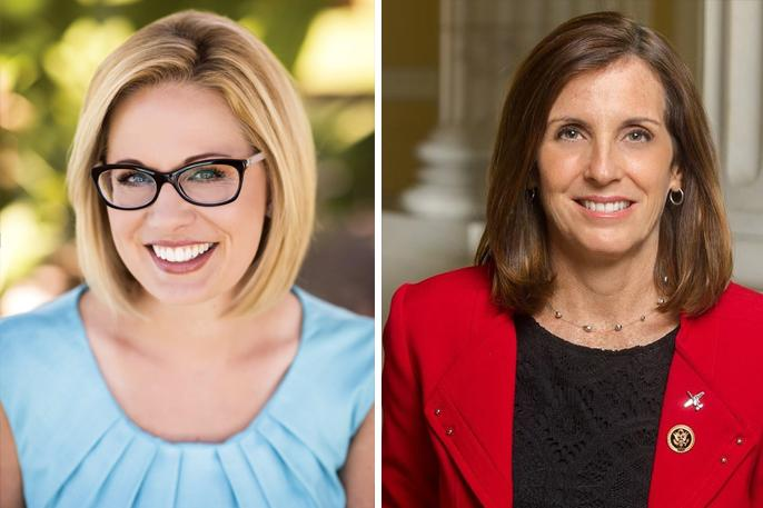 Kyrsten Sinema and Martha McSally