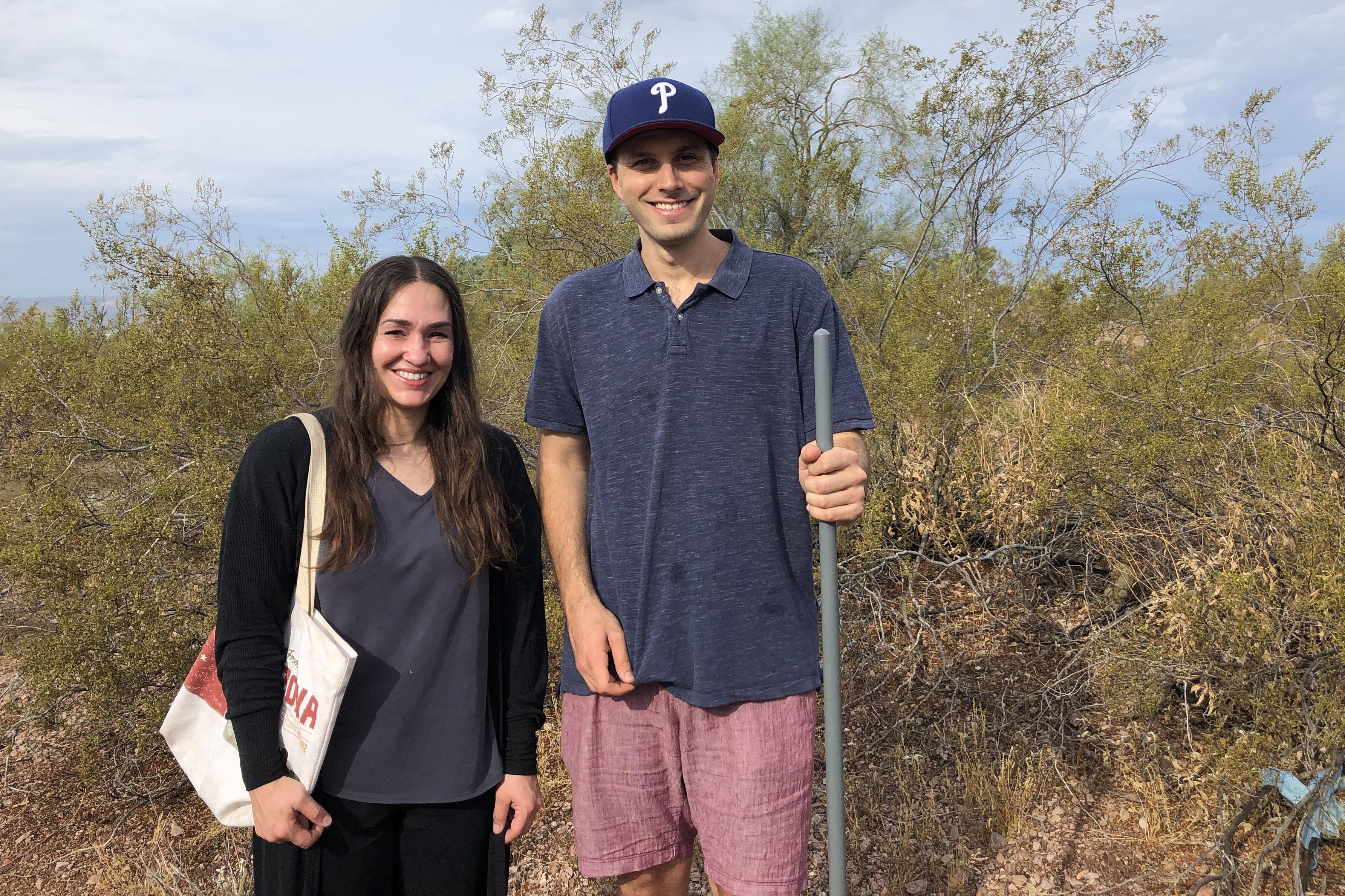 Mesquite pods Papago Park