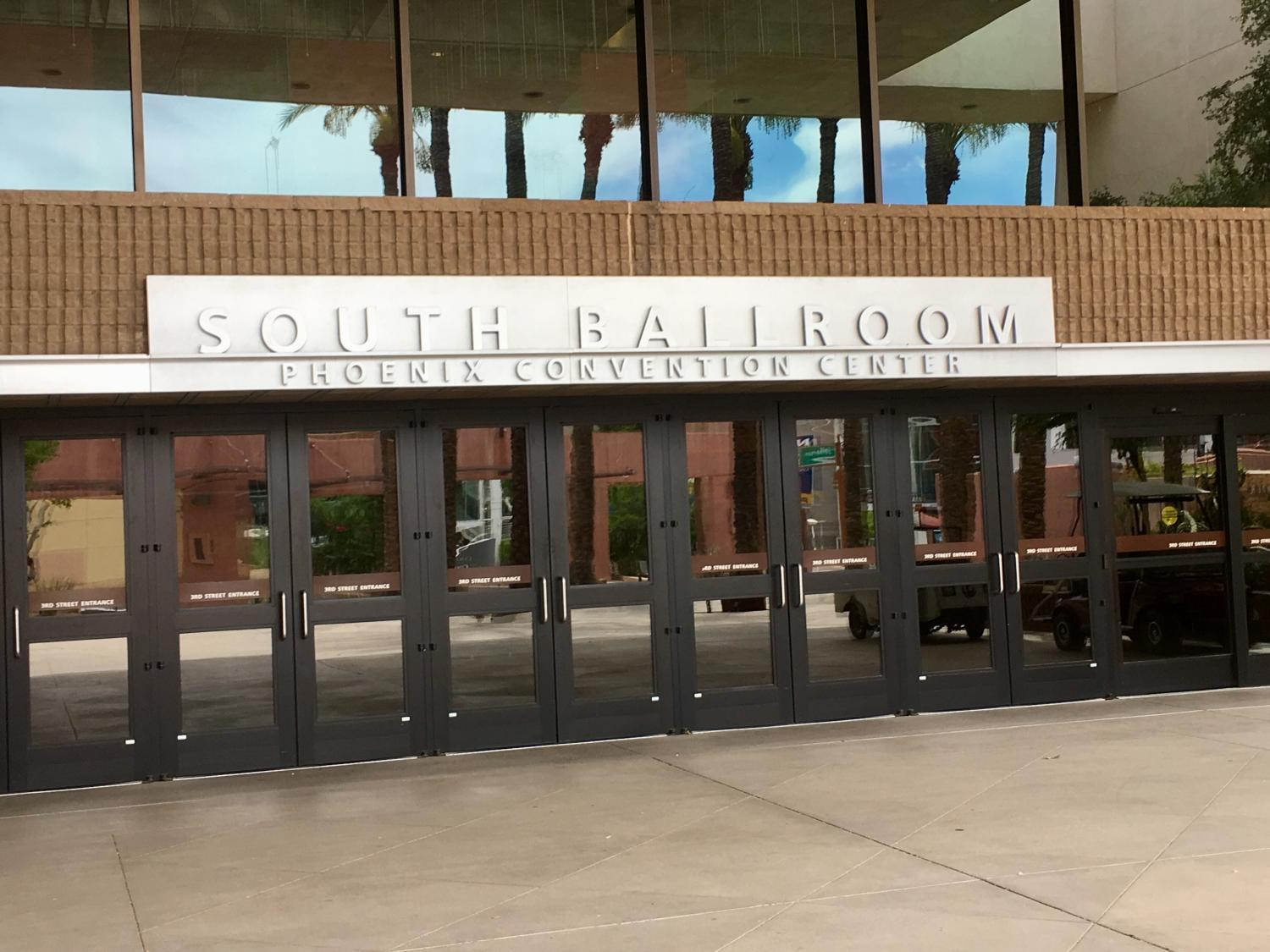 entrance to south ballroom