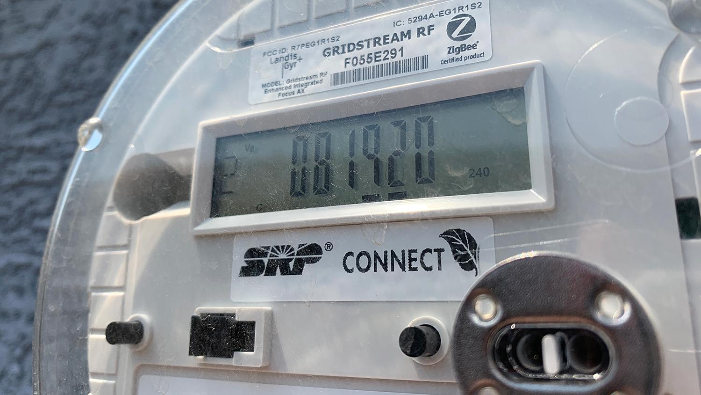SRP electricity meter