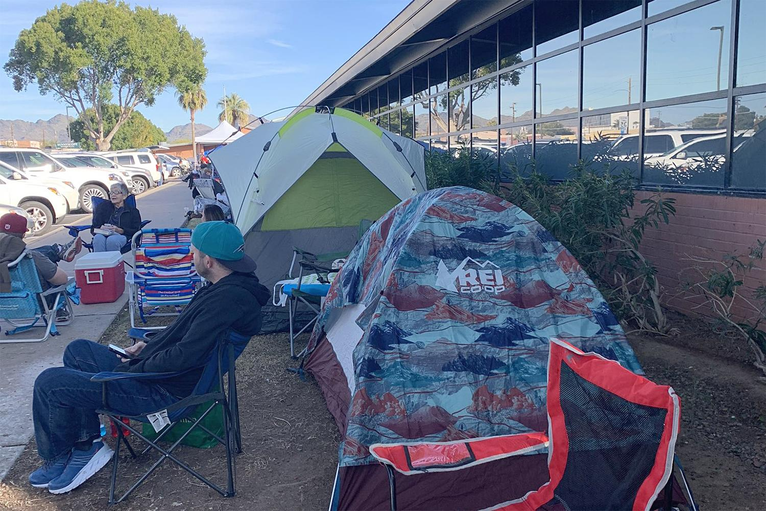 Sunnyslope High School enrollment campout