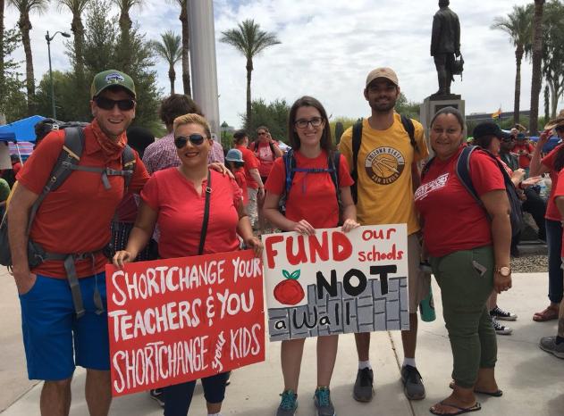 charter school teachers from Phoenix Collegiate Academy