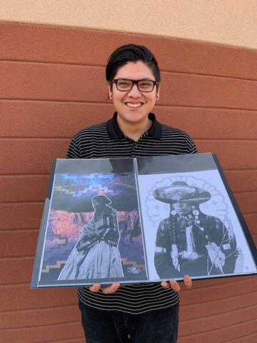 Tommy Greyeyes Navajo artist
