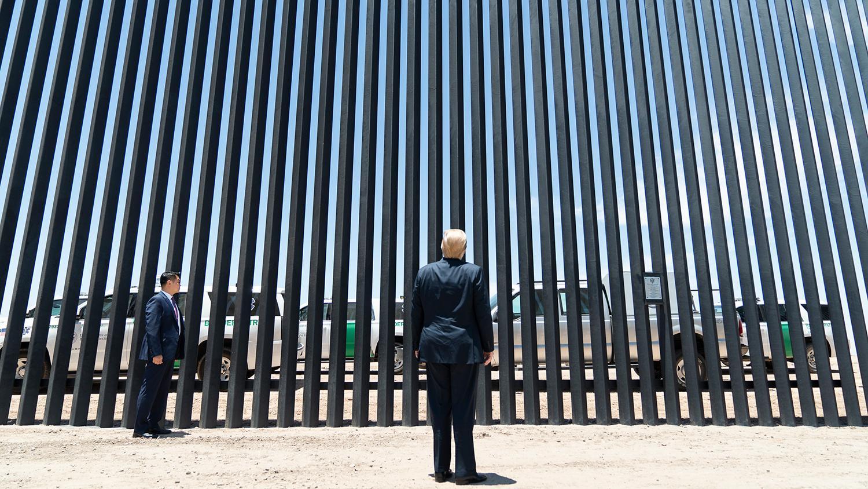 Donald Trump border wall Yuma