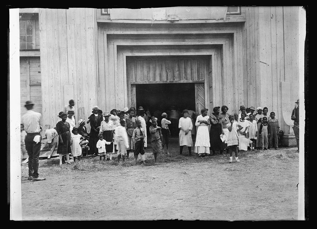 Tulsa Race Massacre refugee camp