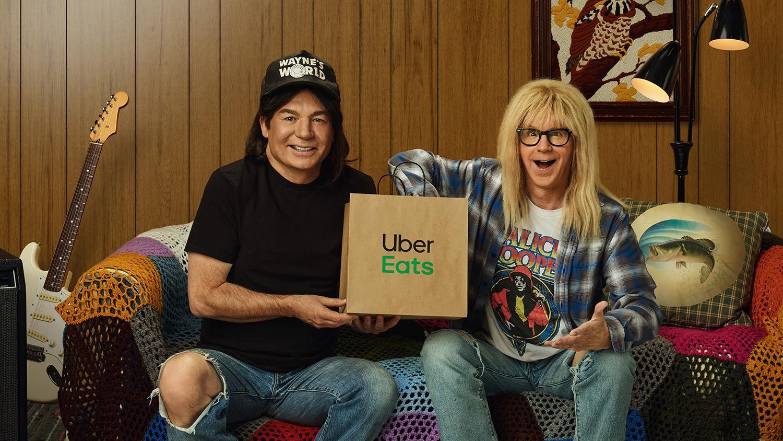 Uber Eats Wayne