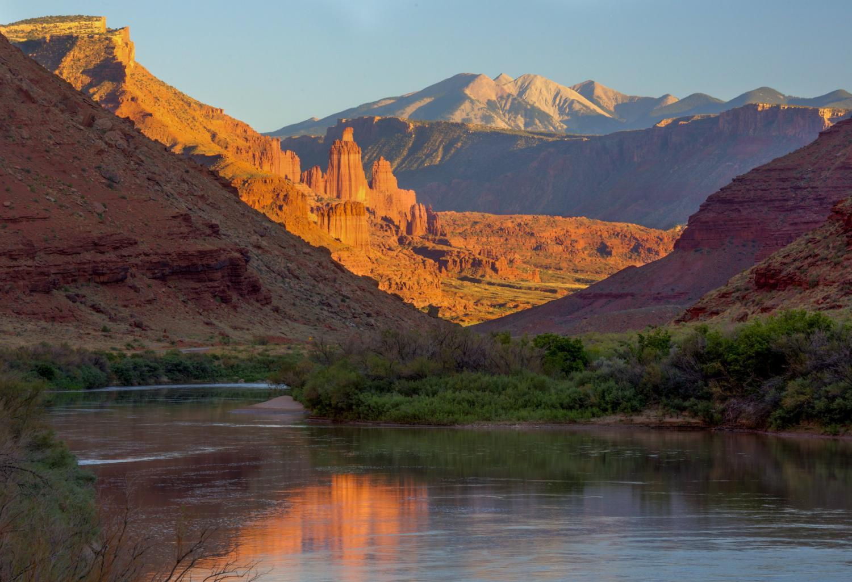 Upper Colorado River in Utah
