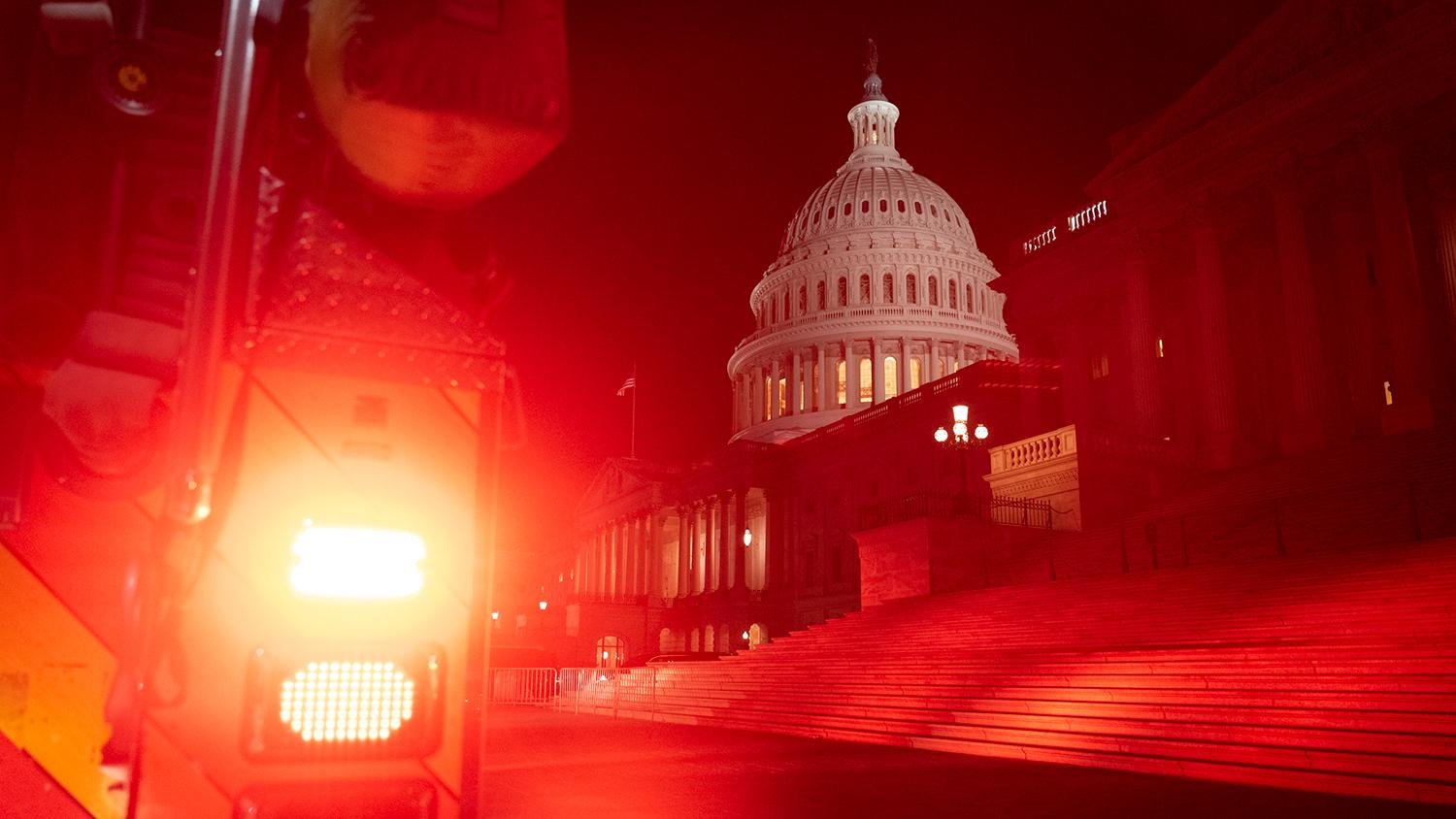 U.S. Capitol after January 6 attack