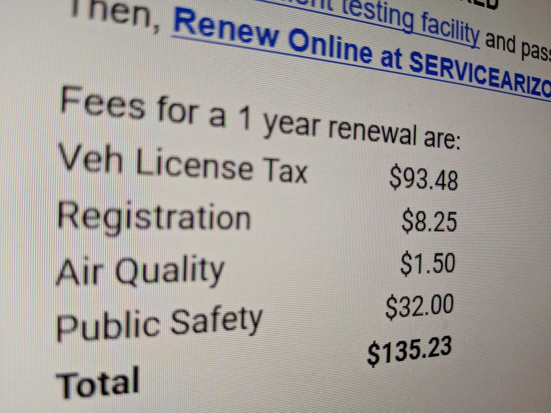 vehicle registration email