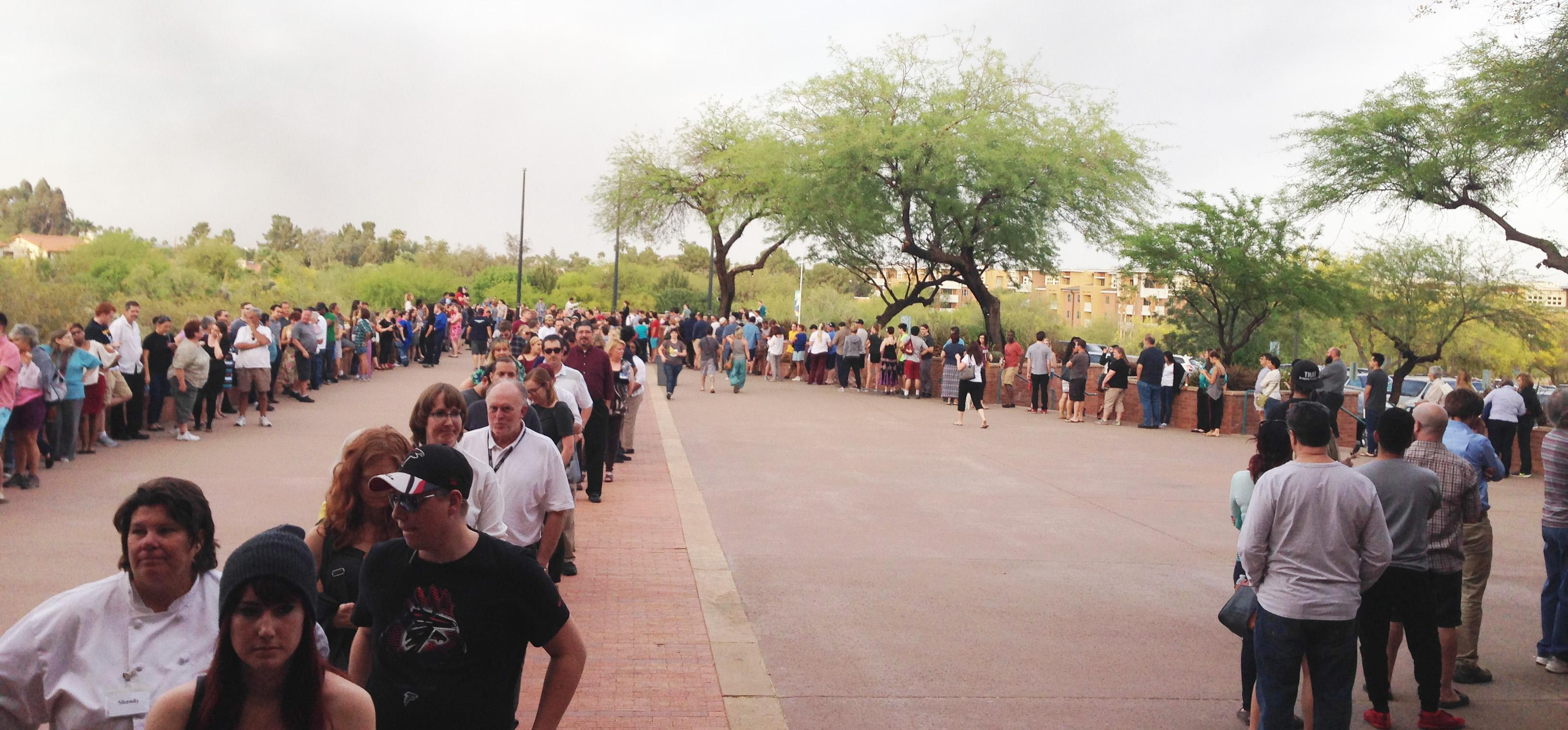 polling place in Papago Park