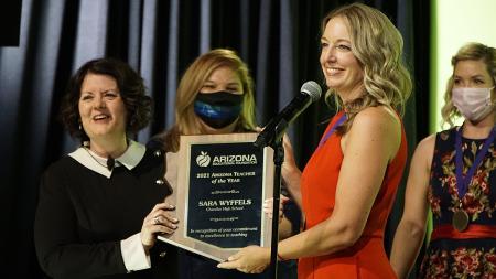 Sara Wyffels Arizona Teacher of the Year
