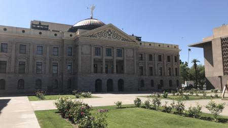 The Arizona Capitol building