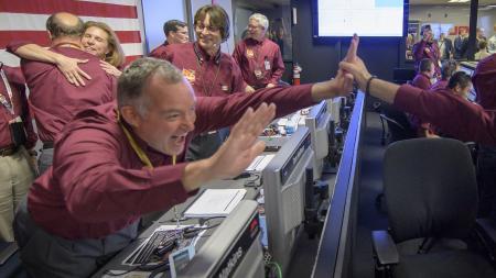 InSight's Mars Landing Celebration